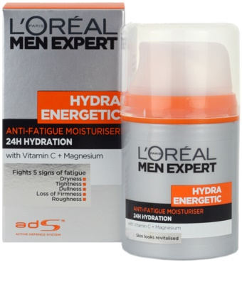 L'Oréal Paris Men Expert Hydra Energetic хидратиращ крем  против признаците на умора 4