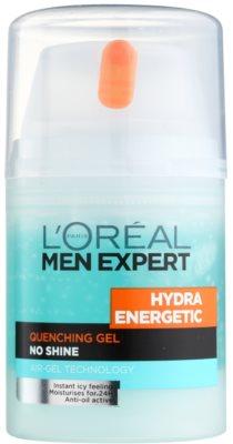 L'Oréal Paris Men Expert Hydra Energetic gel hidratante contra marcas de cansaco