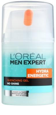 L'Oréal Paris Men Expert Hydra Energetic зволожуючий гель проти ознак втоми