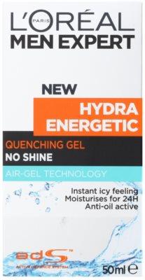 L'Oréal Paris Men Expert Hydra Energetic żel nawilżający przeciw oznakom zmęczenia 2
