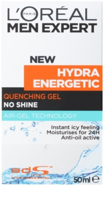 L'Oréal Paris Men Expert Hydra Energetic зволожуючий гель проти ознак втоми 2