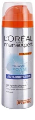 L'Oréal Paris Men Expert Hydra Energetic borotválkozási hab az érzékeny arcbőrre