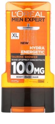 L'Oréal Paris Men Expert Hydra Energetic стимулюючий гель для душа