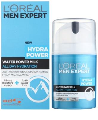 L'Oréal Paris Men Expert Hydra Power frissítő hidratáló krém 1