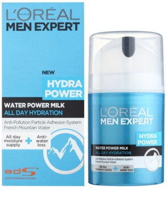 L'Oréal Paris Men Expert Hydra Power освіжаюче зволожуюче молочко для обличчя 1