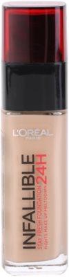 L'Oréal Paris Infallible дълготраен течен фон дьо тен 1