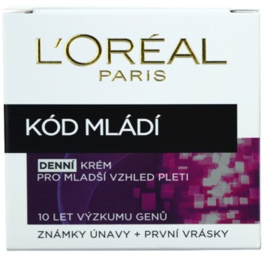 L'Oréal Paris Youth Code denní protivráskový krém pro všechny typy pleti 2