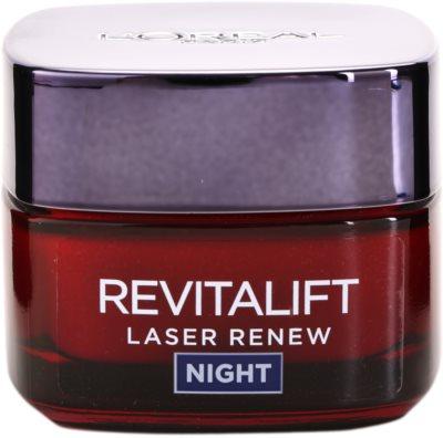 L'Oréal Paris Revitalift Laser Renew nočna krema proti staranju kože