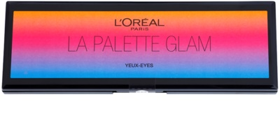 L'Oréal Paris Color Riche La Palette Glam палетка тіней з дзеркальцем та аплікатором 1