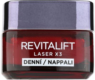L'Oréal Paris Revitalift Laser X3 ingrijire intensiva impotriva imbatranirii pielii