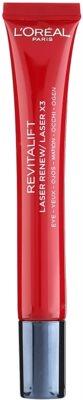 L'Oréal Paris Revitalift Laser X3 грижа за околоочната зона против бръчки, отоци и тъмни кръгове