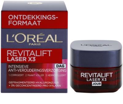 L'Oréal Paris Revitalift Laser X3 дневен крем  против стареене на кожата 2