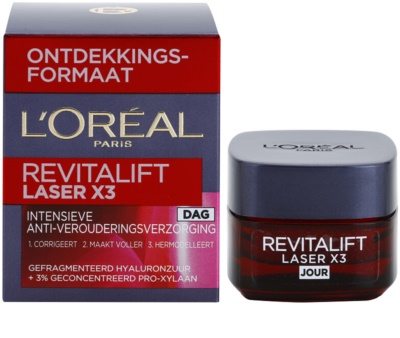 L'Oréal Paris Revitalift Laser X3 denní krém proti stárnutí pleti 2