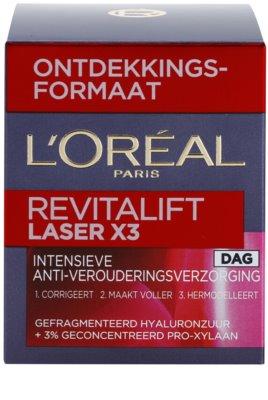 L'Oréal Paris Revitalift Laser X3 denní krém proti stárnutí pleti 3