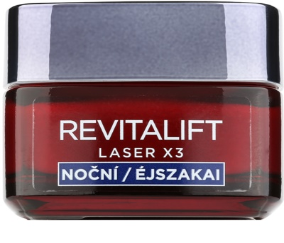 L'Oréal Paris Revitalift Laser X3 regenerierende Nachtcreme gegen Hautalterung