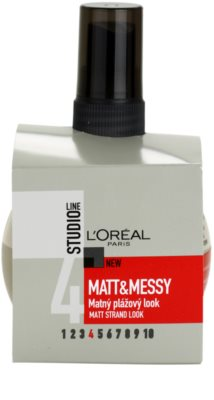 L'Oréal Paris Studio Line Matt & Messy salziges Spray für einen Strandeffekt 2