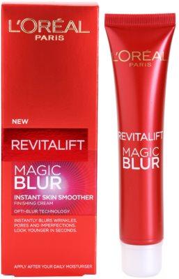 L'Oréal Paris Revitalift Magic Blur gladilna krema proti gubam 2