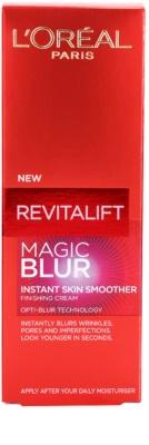 L'Oréal Paris Revitalift Magic Blur gladilna krema proti gubam 3