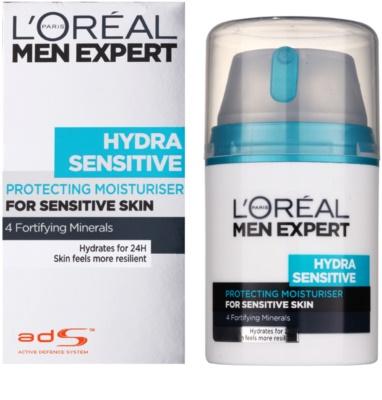 L'Oréal Paris Men Expert Hydra Sensitive crema hidratanta pentru piele sensibila 1