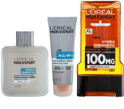 L'Oréal Paris Men Expert Hydra Sensitive kozmetični set I.