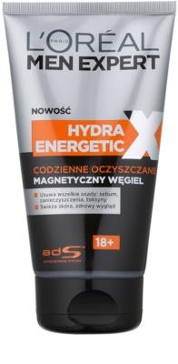 L'Oréal Paris Men Expert Hydra Energetic X почистващ гел с магнитен въглен
