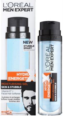 L'Oréal Paris Men Expert Hydra Energetic X gel hidratante para cara y barba 1