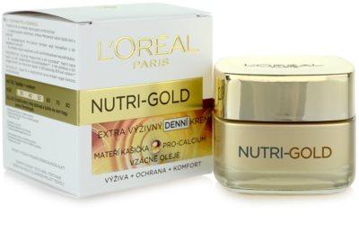 L'Oréal Paris Nutri-Gold crema de día 2
