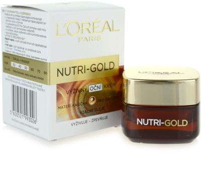 L'Oréal Paris Nutri-Gold nährende Augencreme 2