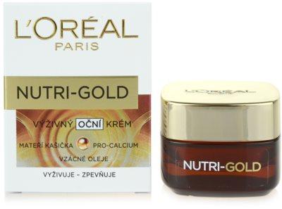 L'Oréal Paris Nutri-Gold nährende Augencreme 3