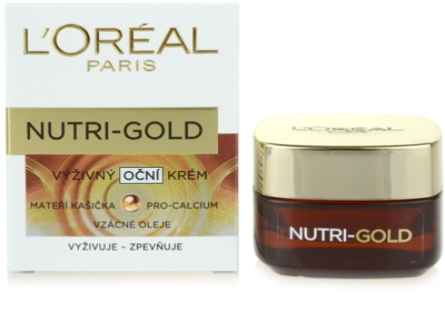 L'Oréal Paris Nutri-Gold odżywczy krem pod oczy 3