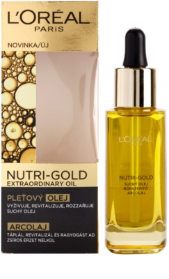 L'Oréal Paris Nutri-Gold olje za obraz iz 8 eteričnih olj 1