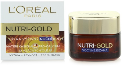 L'Oréal Paris Nutri-Gold nočna krema 2