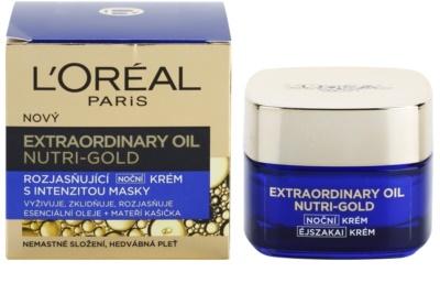 L'Oréal Paris Nutri-Gold masca intensa crema de noapte cu efect radiant 2