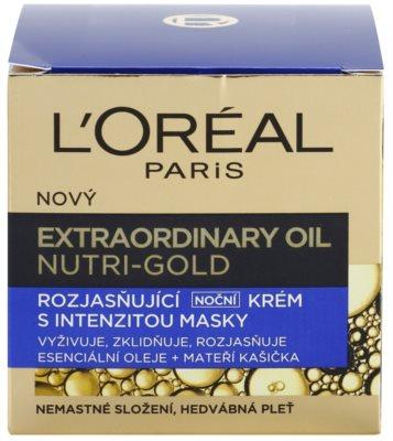 L'Oréal Paris Nutri-Gold masca intensa crema de noapte cu efect radiant 3
