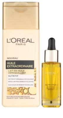 L'Oréal Paris Nutri-Gold lote cosmético II.