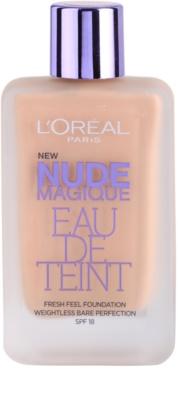 L'Oréal Paris Nude Magique Eau De Teint folyékony make-up nude sminkhez