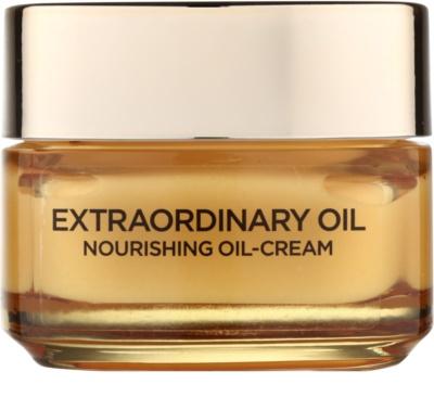 L'Oréal Paris Extraordinary Oil crema  nutritiva con aceite  contra signos de cansancio