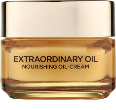 L'Oréal Paris Extraordinary Oil creme com óleo nutritivo contra marcas de cansaco