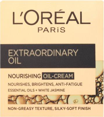 L'Oréal Paris Extraordinary Oil nährende Öl-Creme gegen die Anzeichen von Müdigkeit 2