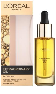 L'Oréal Paris Extraordinary Oil intenzív tápláló olaj az arcbőr rugalmasságáért 1