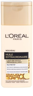 L'Oréal Paris Extraordinary Oil tápláló szemfestéklemosó olajos tej