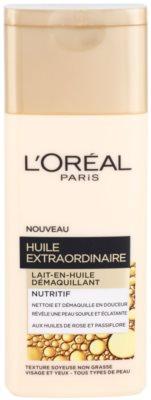 L'Oréal Paris Extraordinary Oil поживне молочко для зняття макіяжу