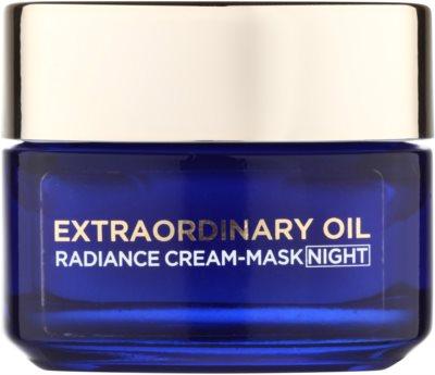 L'Oréal Paris Extraordinary Oil výživný nočný krém-maska pre suchú pleť