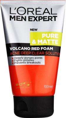 L'Oréal Paris Men Expert Pure & Matte Tiefenreinigungsschaum gegen Akne