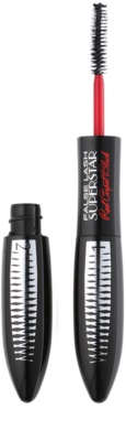 L'Oréal Paris False Lash Superstar Red Carpet Black Mascara cu efect de dublare a volumului genelor