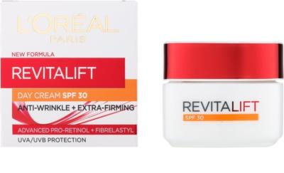 L'Oréal Paris Revitalift crema de día antiarrugas  SPF 30 1