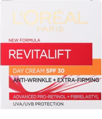 L'Oréal Paris Revitalift crema de día antiarrugas  SPF 30 2