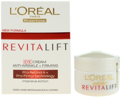 L'Oréal Paris Revitalift Augencreme 1