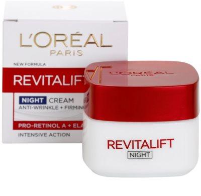 L'Oréal Paris Revitalift nočný spevňujúci a protivráskový krém pre všetky typy pleti 2