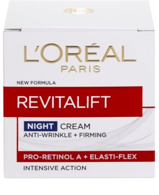 L'Oréal Paris Revitalift Festigende Nachtcreme gegen Falten für alle Hauttypen 4